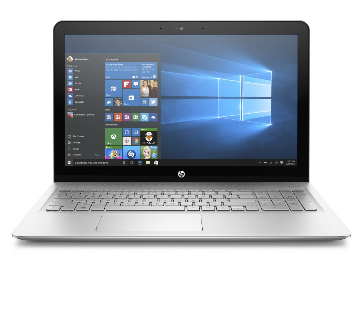 Notebook HP ENVY 15-as104nc/ 15-as104 (2EQ13EA)