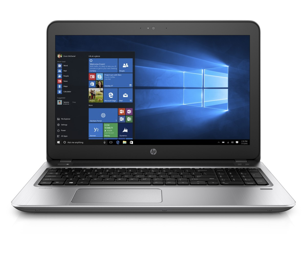 Notebook HP ProBook 450 G4 (Y7Z33ES)