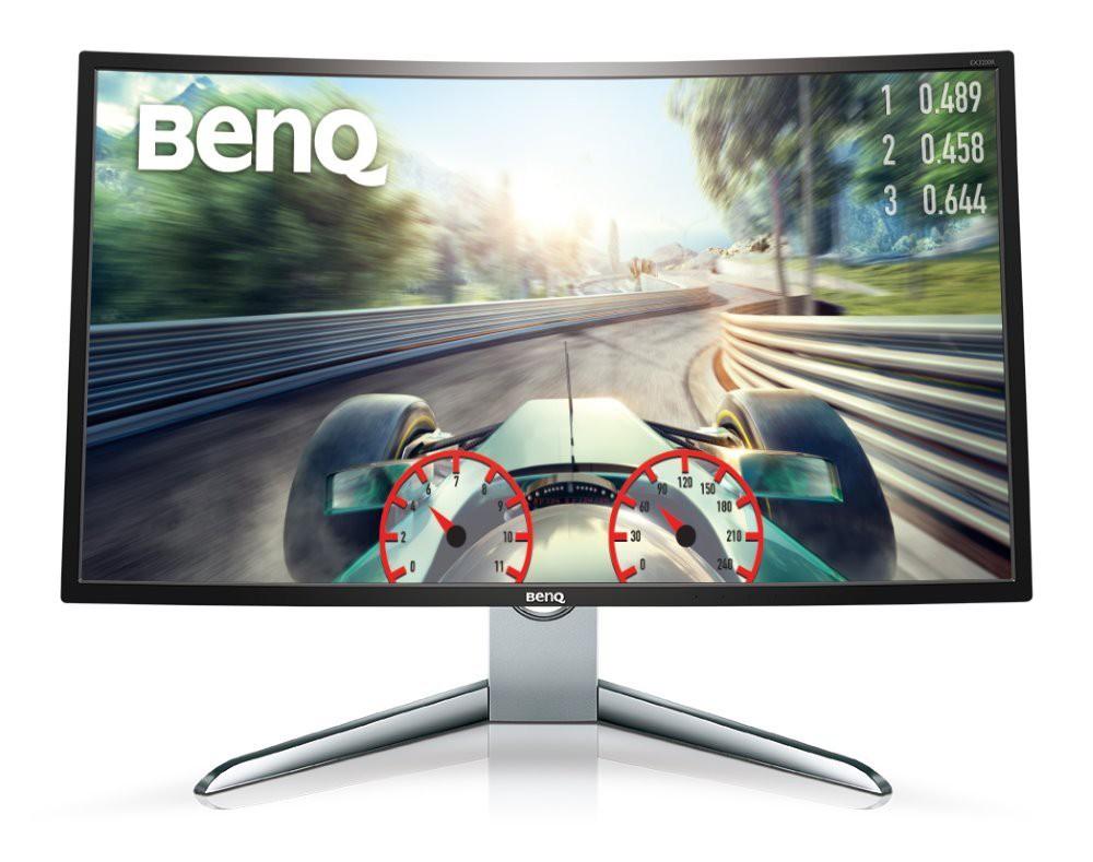 """BENQ 32"""" LED EX3200R/ Curved/ 1920x1080/ 20M:1/ 4ms/ HDMI/ DP/ FF/ LBL/ černý 9H.LFCLA.TSE"""