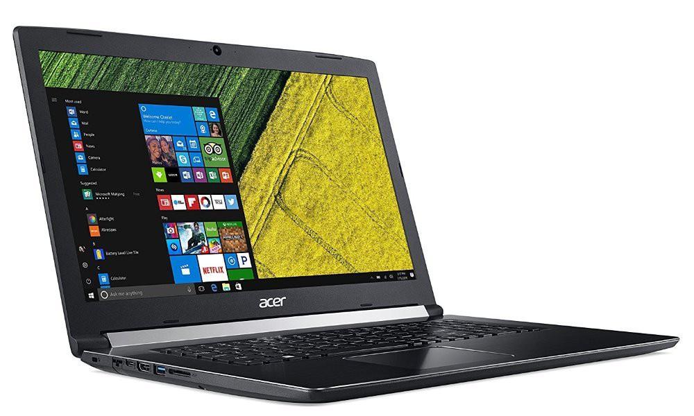 "Acer Aspire 5 (A517-51G-574Y)/ i5-8250U/8GB/128GB SSD +1TB/DVDRW/MX150 2 GB/17,3"" FHD IPS matný/W10H/černý NX.GSXEC.001"