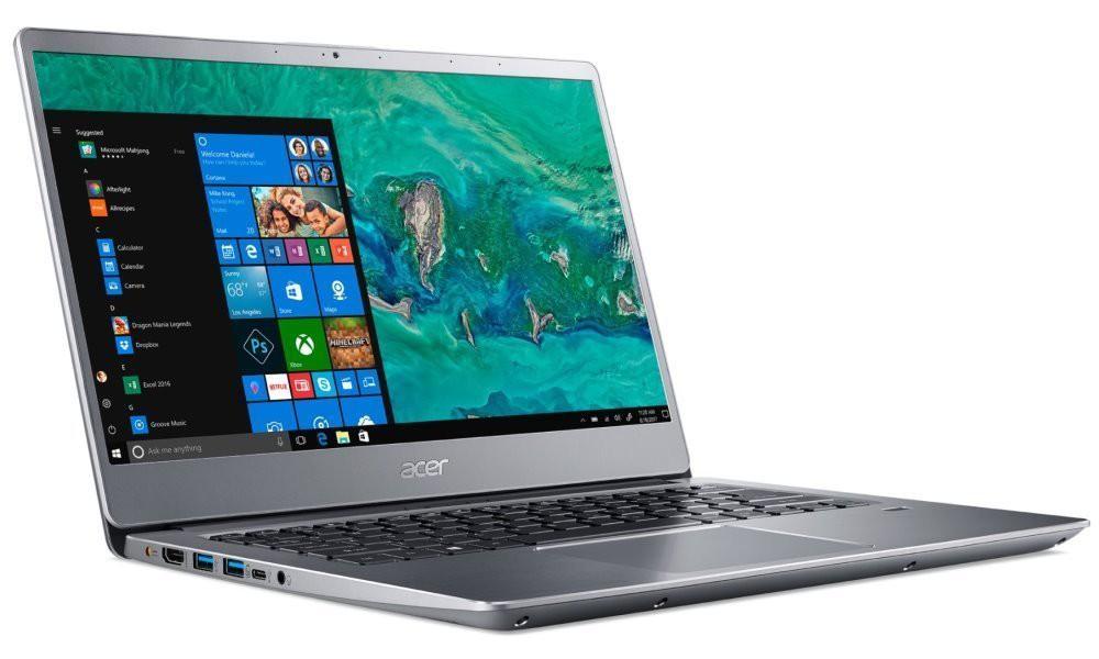 "Acer Swift 3 / i7-8565U/ 12GB DDR4/ 512GB SSD/ Intel UHD 620/ 14"" FHD IPS/ W10H/ Stříbrný NX.H4CEC.007"