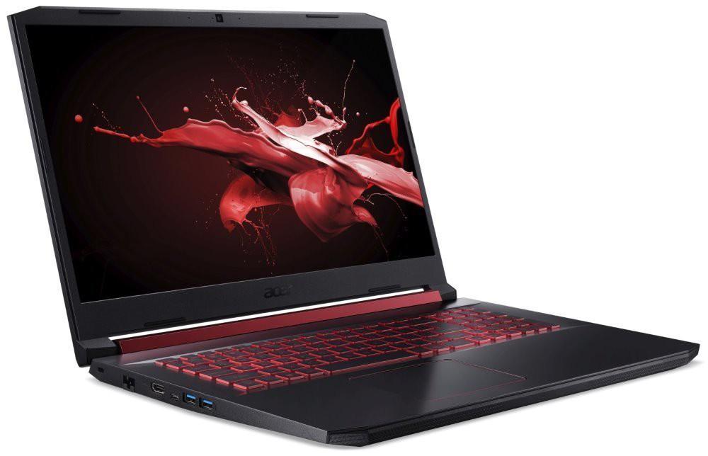 """Acer Nitro 5/ i7-9750H/ 16GB DDR4/ 256GB SSD + 1TB (5400)/ GTX1650 4GB/ 17,3"""" FHD IPS/ W10H/ Černý NH.Q5CEC.004"""