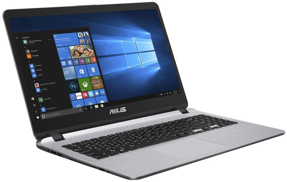 "ASUS X507UF-EJ255T/ i5-8250U/ 8GB DDR4/ 128GB SSD + 1TB (5400)/ GeForce MX130/ 15,6"" FHD IPS/ W10H/ Šedý+Černý X507UF-EJ255T"