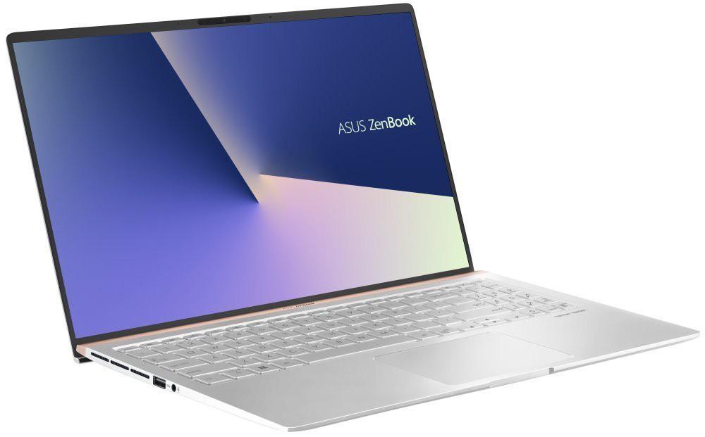 """Asus Zenbook UX533/ i5-8265U/ 8GB DDR4/ 512GB SSD/ MX150/ 15,6"""" FHD IPS/ W10H/ Stříbrný UX533FN-A8086T"""