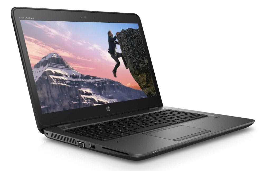 HP Zbook 14u G4/ i5-7200U/ 8GB DDR4/ 500GB (7200)/ AMD Firepro W4190M 2GB/ 14'' FHD SVA/ W10P/ černý 1RQ67EA#BCM