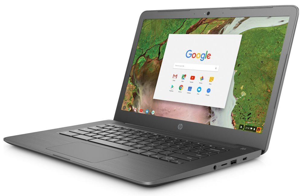 """HP Chromebook 14 G5/ N3350/ 4GB LPDDR4/ 32GB eMMC/ Intel HD 500/ 14"""" IPS FHD Touch/ WiFi/ USB-C/ USB 3.1/ BT/ Chrome 3GJ76EA#BCM"""