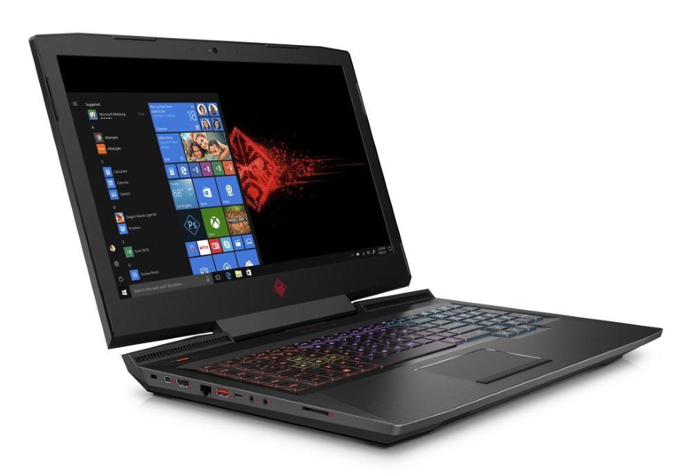 """HP Omen 17-an103nc/ i5-8300H/ 8GB DDR4/ 256GB SSD + 1TB (7200)/ GeForce GTX 1060 6GB/ 17,3"""" FHD IPS/ W10H/ černý 4KB51EA#BCM"""