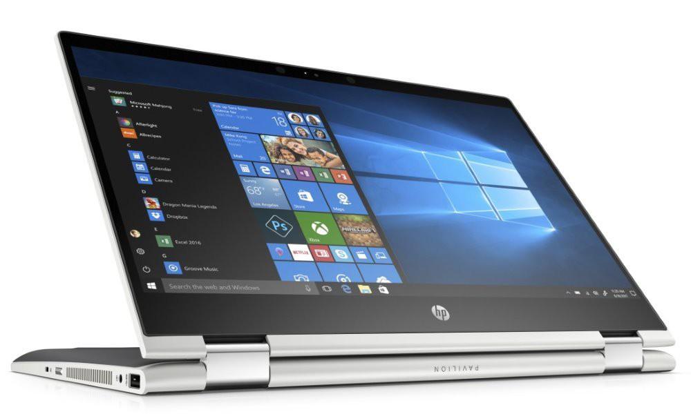 "HP Pavilion x360 14-cd0001nc/ i5-8250U/ 8GB DDR4/ 128GB SSD + 1TB (5400)/ GeForce MX130 2GB/ 14"" FHD IPS Touch/ W10H/ st 4DG64EA#BCM"