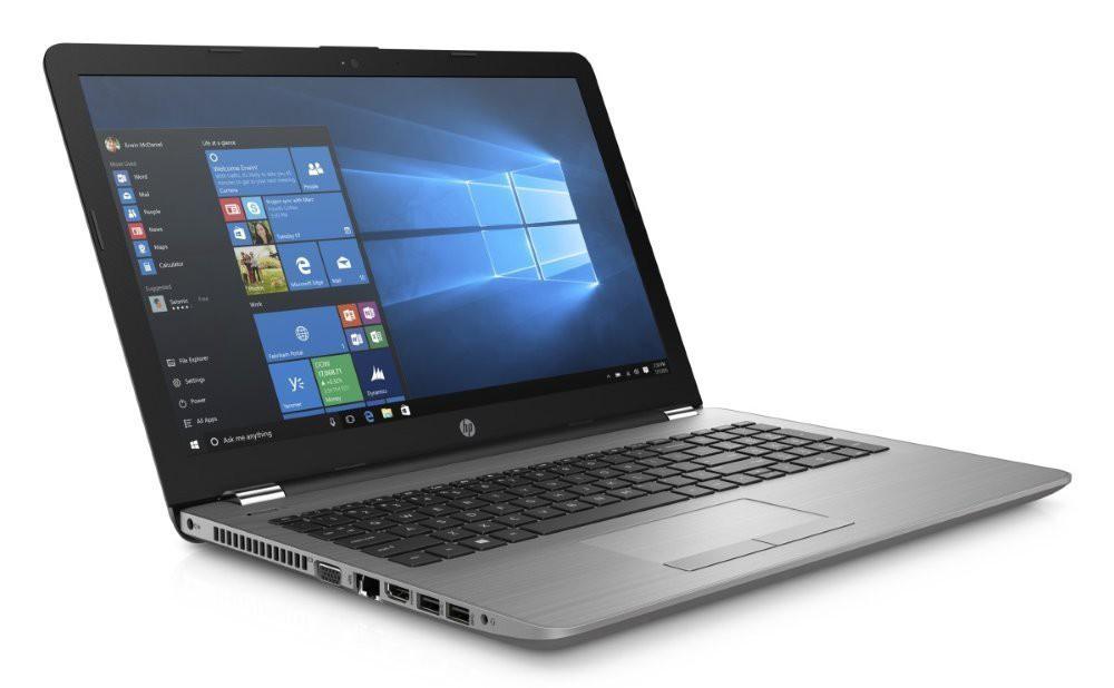"""HP 250 G6/ i3-7020U/ 8GB DDR4/ 1TB (5400)/ Intel HD 620/ 15,6"""" FHD/ DVD-RW/ W10H/ sea model/ stříbrný 4WU75ES#BCM"""