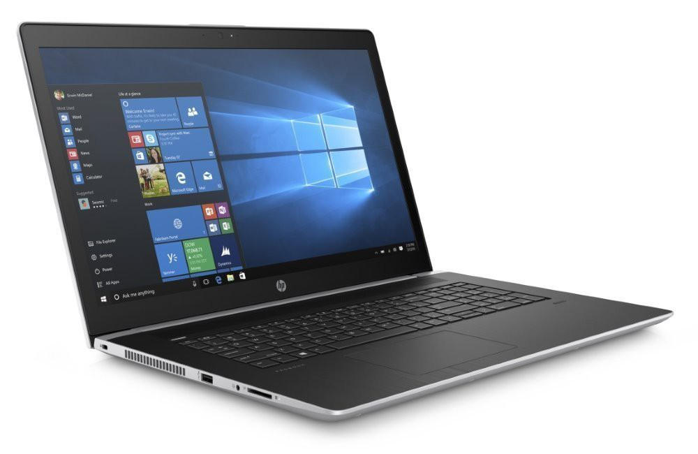 "HP ProBook 470 G5/ i7-8550U/ 16GB DDR4/ 256GB SSD + 2,5""/ GeForce 930MX 2GB/ 17,3"" FHD UWVA/ W10P/ sea model/ stříbrný 4WU86ES#BCM"