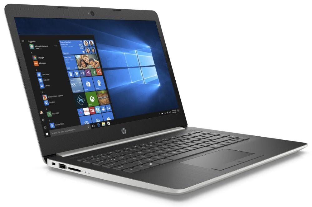 """HP 14-cm0010nc/ A6-9225/ 4GB DDR4/ 1TB (5400)/ Radeon R4/ 14"""" HD SVA/ W10H/ stříbrný 4DE93EA#BCM"""