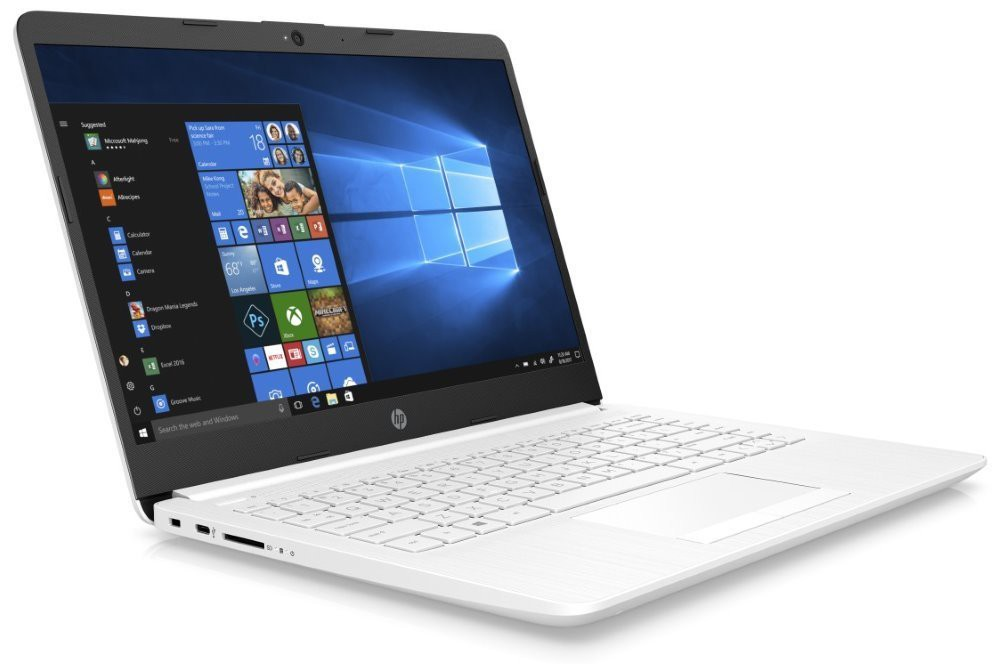 "HP 14-cf0015nc/ N5000/ 4GB DDR4/ 256GB SSD/ Intel UHD 605/ 14"" HD SVA/ W10H/ bílý 4MQ98EA#BCM"