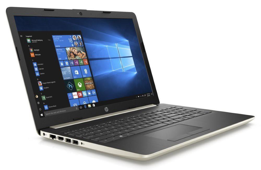 "HP 15-db0038nc/ Ryzen 5 2500U/ 8GB DDR4/ 128GB SSD + 1TB (5400)/ Radeon RX Vega 8/ 15,6"" FHD SVA/ DVD-RW/ W10H/ zlatý 4MY64EA#BCM"