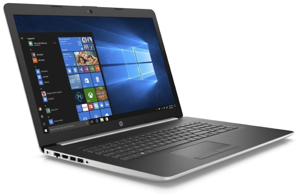 "HP 17-by0010nc/ Core i5-8250U/ 8GB DDR4/ 256GB SSD/ Radeon 530 2GB/ 17,3"" FHD IPS/ DVD-RW/ W10H/ stříbrný 4DK02EA#BCM"