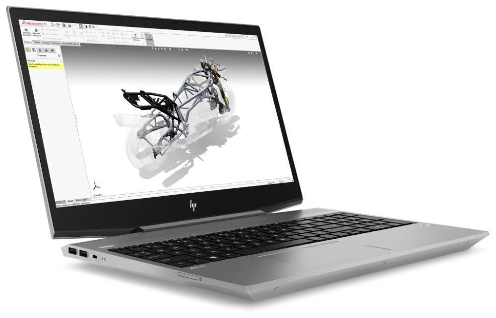 """HP Zbook 15v G5/ i7-8750H/ 16GB DDR4/ 256GB SSD/ Nvidia P600 4GB/ 15,6"""" FHD UWVA/ W10P 2ZC56EA#BCM"""