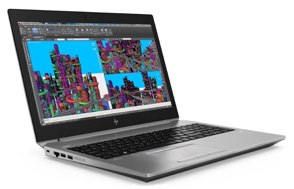 HP Zbook 15 G5/ i7-8750H/ 16GB DDR4/ 256GB SSD/ Nvidia P2000 4GB/ 15,6 FHD UWVA/ W10P 2ZC40EA#BCM