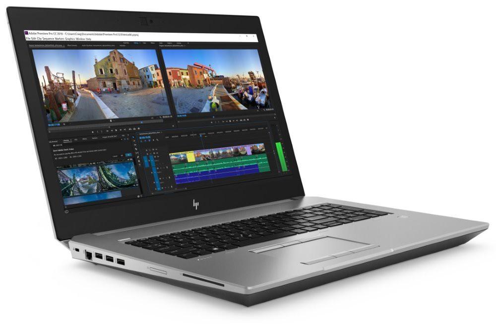 """HP Zbook 17 G5/ i7-8750H/ 16GB DDR4/ 256GB SSD/ Nvidia P1000 4GB/ 17,3"""" FHD UWVA/ W10P 4QH25EA#BCM"""