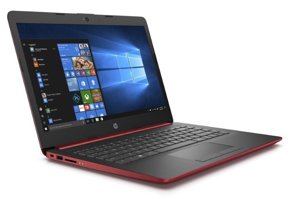 "HP 14-dg0003nc/ N4000/ 4GB DDR4/ 64GB eMMC/ Intel UHD 600/ 14"" HD SVA/ W10S/ červený 4XX14EA#BCM"