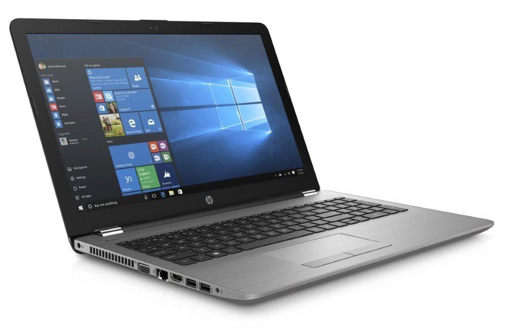 "HP 250 G6/ i3-7020U/ 4GB DDR4/ 256GB SSD/ Intel HD 620/ 15,6"" FHD SVA/ DVD-RW/ W10H/ stříbrný 5JL03ES#BCM"