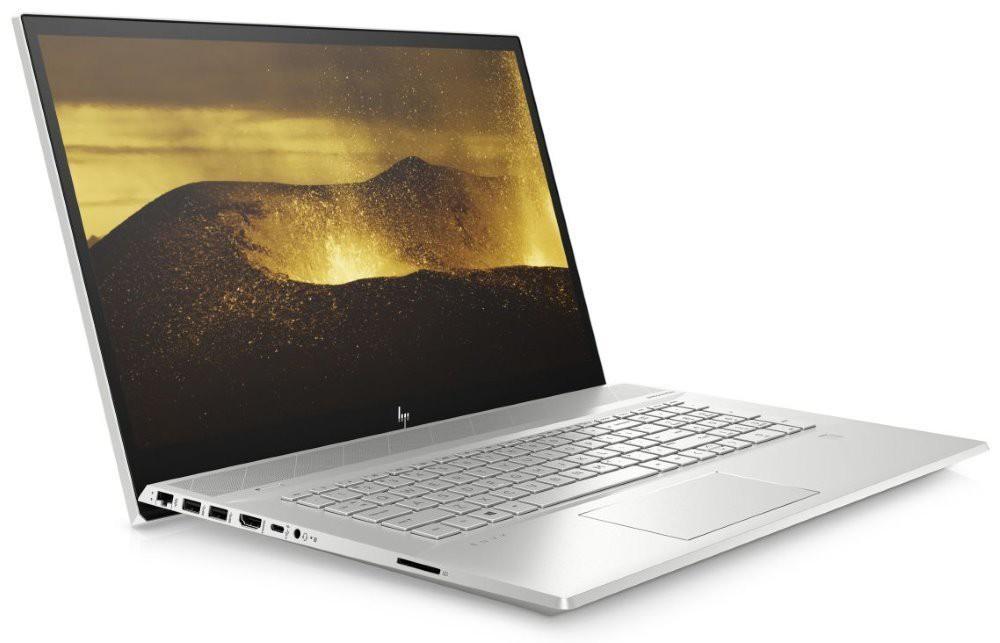 """HP ENVY 17-ce0000nc/ i5-8265U/ 8GB DDR4/ 512GB SSD/ MX250 2GB/ 17,3"""" FHD IPS/ DVD-RW/ W10H/ Stříbrný 6WR39EA#BCM"""
