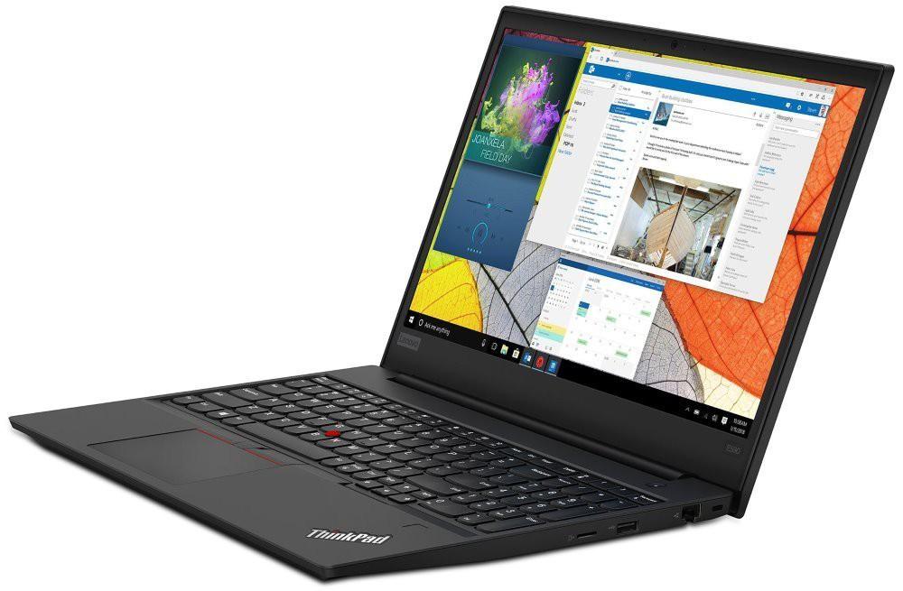 """Lenovo E590/ i3-8145U/ 8GB DDR4/ 256GB SSD/ Intel UHD 620/ 15,6"""" FHD IPS/ W10H/ Černý 20NB005SMC"""