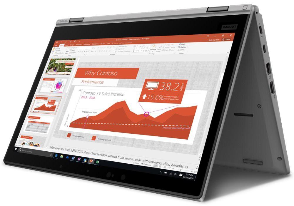 "Lenovo L390 Yoga/ i5-8265U/ 8GB DDR4/ 512GB SSD/ Intel UHD 620/ 13,3"" FHD IPS/ W10P/ Stříbrný 20NT0012MC"
