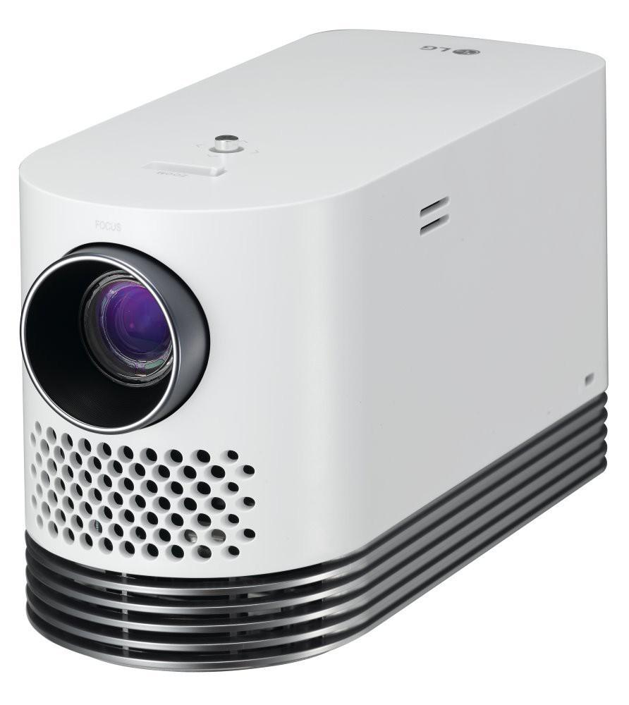 LG mobilní mini projektor HF80JS / FHD / 2000ANSI / LED / HDMI / USB / S/PDIF / LAN HF80JS.AEU