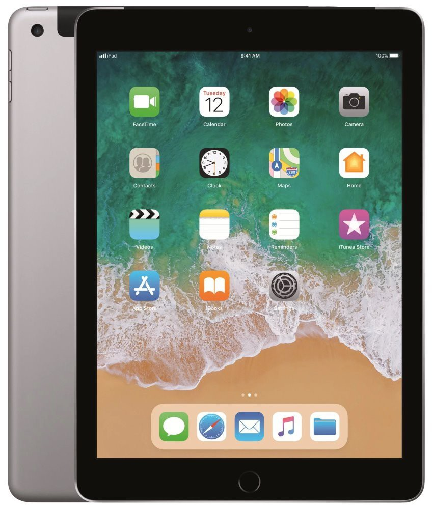 "Apple iPad Wi-Fi + Cellular  9,7""/ 128GB/ Space Grey mr722fd/a"