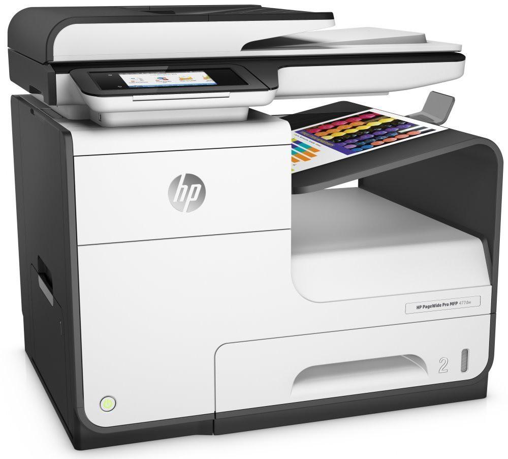 HP PageWide Pro 477dw MFP/ A4/ 55ppm/ print+scan+copy+fax/ 1200x1200/ LCD/ USB/ LAN/ Wi-Fi/ ADF/ Duplex/ černobílá D3Q20B