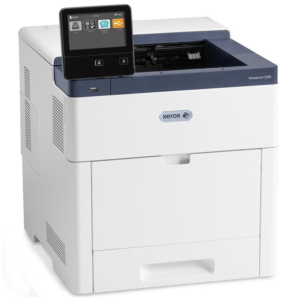 Xerox VersaLink C500/N/ barevná laser tiskárna/ A4/ až 1200x2400 dpi/ 43ppm/ USB/ LAN/ bílá C500V_N