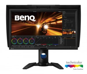"BENQ 27"" LED PV270/ FF/ IPS Rec709/ 2560x1440/ 20M:1/ 5ms/ HDMI/ DP/ DVI/ USB/ černý 9H.LEJLB.QBE"