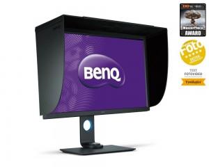 """BENQ 32"""" LED SW320/ IPS panel/ 3840x2160/ 20M:1/ 5ms/ HDMI/ DP/ mDP/ USB/ FF/ LBL/ černý 9H.LLFVLB.QBE"""