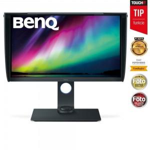 """BENQ 27"""" LED SW271/ 3840x2160/ LBL/ FF/ IPS panel/ 20M:1/ 5ms/ HDMI/ DP/ USB/ černý 9H.LGLLB.QBE"""