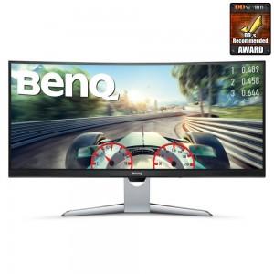 """BENQ 35"""" LED Curved EX3501R/ 3440x1440/ 20M:1/ 4ms/ 2x HDMI/ DP/ USB-C/ černý 9H.LGJLA.TSE"""