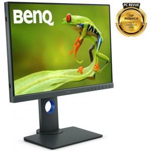 """BENQ 24"""" LED SW240/ 1920x1200/ IPS panel/ 20M:1/ 5ms/ HDMI/ DP/ černý 9H.LH2LB.QBE"""