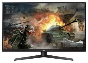 """LG herní VA monitor 32GK850G / 31,5"""" / QHD/ 2560x1440 / 144Hz / 5ms / HDMI / DP / USB / pivot/ černý 32GK850G-B.AEU"""