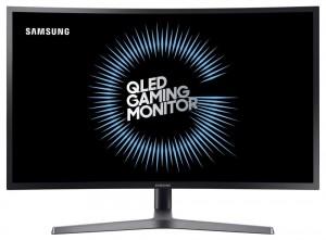 """SAMSUNG 27"""" LED C27HG70/ QHD 2560x1440/ 1ms/ 144Hz/ Quantum dot/ Display port/ 2xHDMI/ USB hub/ Gaming/ prohnutý LC27HG70QQUXEN"""