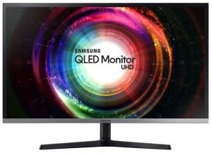 """SAMSUNG 31,5"""" UHD U32H850/ 3840×2160/ 16:9/ 4ms/ 250cd/m2/ VA/ Quantum Dot/ 2x HDMI/DP/Mini DP/USB Hub/Sluchátkový port LU32H850UMUXEN"""