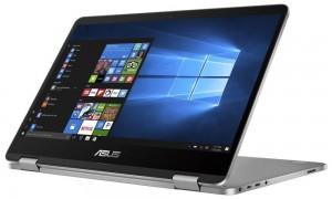 "ASUS TP401NA-EC007T/ VivoBook Flip/ N4200/ 4GB LPDDR3/ 64GB eMMC/ Intel HD Graphics 505/ 14"" FHD Touch/ W10H/ šedý TP401NA-EC007T"