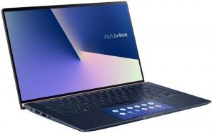 """Asus Zenbook UX434/ i5-8265U/ 8GB LPDDR3/ 256GB SSD/ MX250/ 14"""" FHD IPS/ W10H/ Modrý UX434FL-A6007T"""