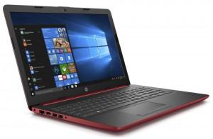 """HP 15-da0028nc/ N5000/ 8GB DDR4/ 256GB SSD/ GeForce MX110 2GB/ 15,6"""" FHD SVA/ DVD-RW/ W10H/ červený 4MH60EA#BCM"""