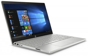 "HP Pavilion 14-ce1000nc/ i5-8265U/ 4GB DDR4/ 16GB Optane + 1TB (5400)/ MX130 2GB/ 14"" FHD IPS/ W10H/ stříbrný 5QY69EA#BCM"