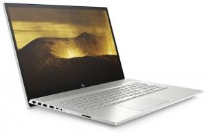 """HP ENVY 17-ce0001nc/ i5-8265U/ 8GB DDR4/ 256GB SSD + 1TB (7200)/ MX250 2GB/ 17,3"""" FHD IPS/ DVD-RW/ W10H/ Stříbrný 6WM72EA#BCM"""