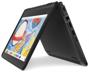"Lenovo ThinkPad 11e 5th Yoga/ N4100/ 4GB DDR3L/ 128GB EMMC/ Intel UHD 600/ 11,6"" HD IPS matný/ W10H/ černý 20LM0000MC"
