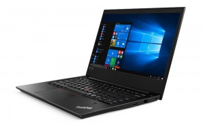 "Lenovo E480/ i7-8550U/ 8GB DDR4/ 256GB SSD/ RX 550 2GB/ 14"" FHD IPS AntiGlare/ W10P/ černý 20KN001NMC"