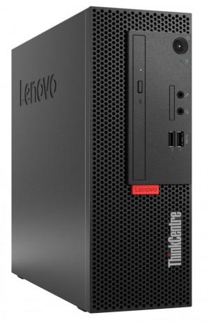 Lenovo M710e SFF/ i3-7100/ 4GB DDR4/ 256GB SSD/ Intel HD 630/ DVD-RW/ W10P/ černý/ 3yw + klávesnice a myš 10UR0043MC