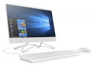 """HP 200 G3 AiO/ i3-8130U/ 4GB DDR4/ 500GB (7200)/ Intel UHD 620/ 21,5"""" FHD IPS/DVD-RW/ W10P/ bílý+kbd,myš 3VA47EA#BCM"""