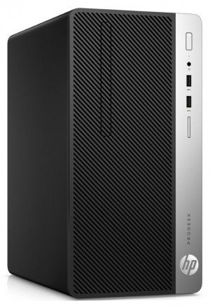 HP ProDesk 400 G5 MT/ i3-8100/ 8GB DDR4/ 16 GB + 1TB (7200)/ Intel UHD 630/ DVD-RW/ W10P/ černý 5ZS24EA#BCM