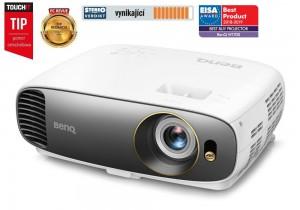 BenQ W1700 4K UHD/ DLP projektor/ 2200ANSI/ 10.000:1/ VGA/ 2x HDMI 9H.JHN77.13E