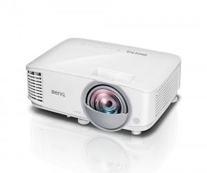 BenQ MW826ST WXGA/ DLP projektor/ 3400 ANSI/ 20000:1/ VGA/ 2x HDMI/ LAN 9H.JGE77.13E